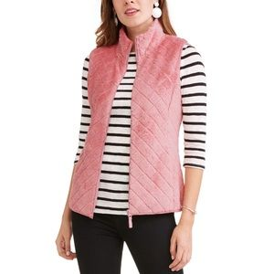Time and Tru Mauve Quilted Vest!